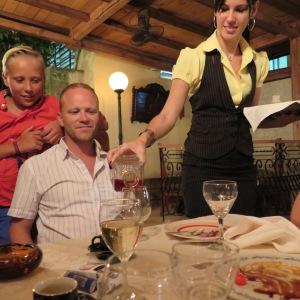 Familieeid restaurant i Vedado, Havanna