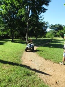 Firhjuling i parken, i Miramar.