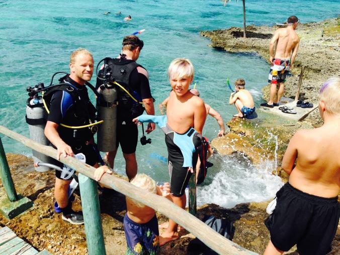 Diving in the Bay of Pigs, Cuba. Foto: Birte Hegerlund Runde